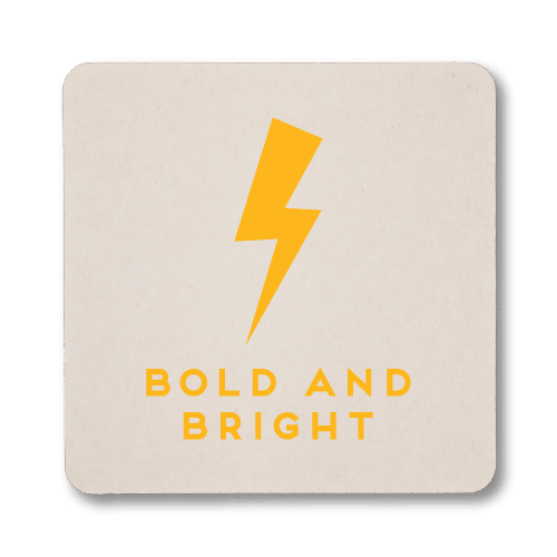 Bold and Bright Coasters