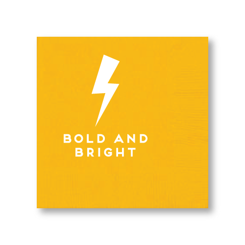 Bold and Bright Cocktail Napkins