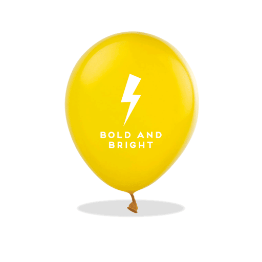 Bold and Bright Latex Balloons