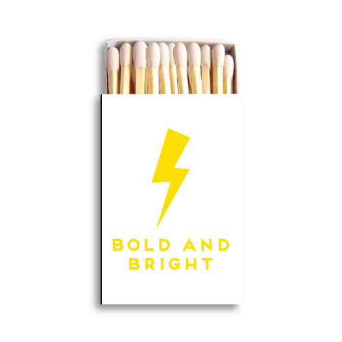 Bold and Bright Matchboxes