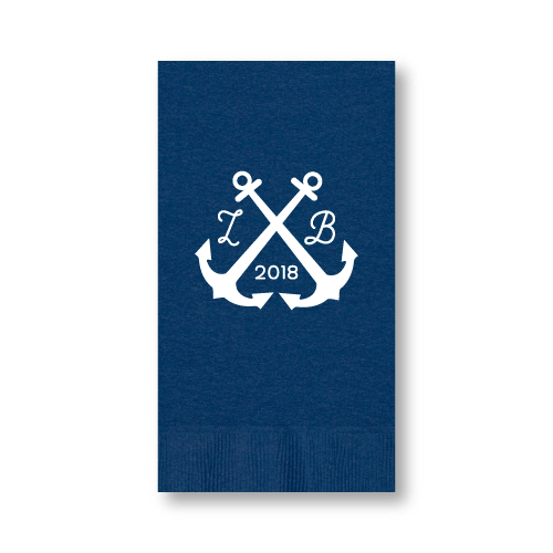 Wedding Anchors Guest Towels