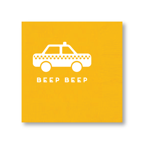 Beep Beep Cocktail Napkins