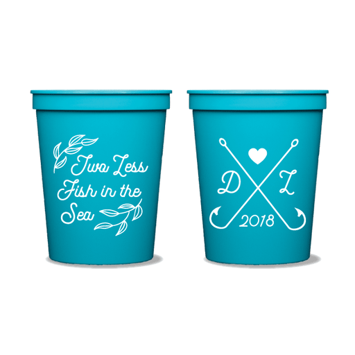 Two Less Fish in the Sea Party Cups