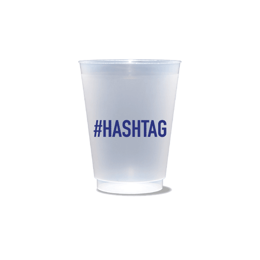 #HASHTAG Frosted Cups
