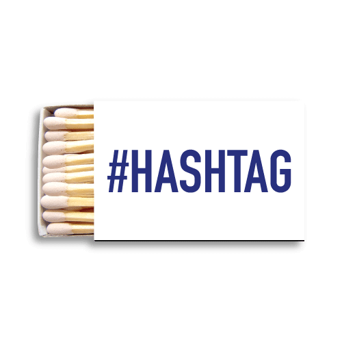 #HASHTAG Matchboxes