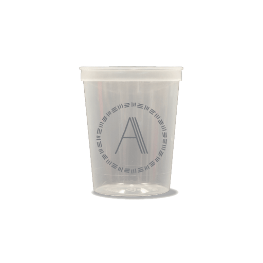 Triple Stripe Monogram Party Cups