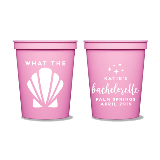 What the Shell Party Cups