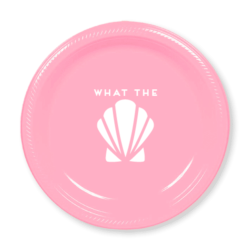 What the Shell Plastic Plates