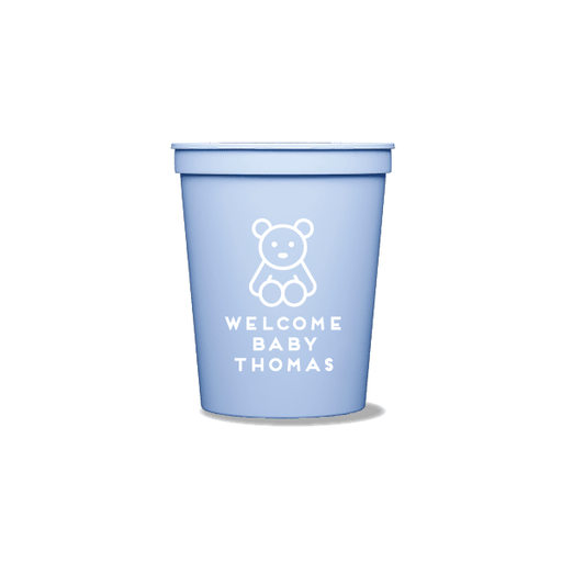 Teddy Bear Party Cups