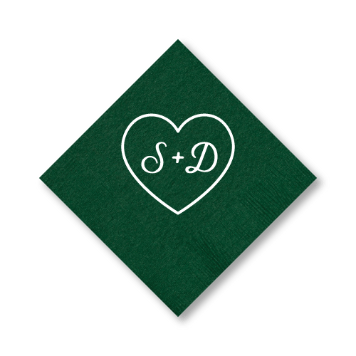 Sweetheart Cocktail Napkins