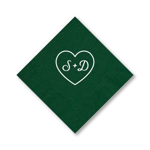 Sweetheart Dinner Napkins