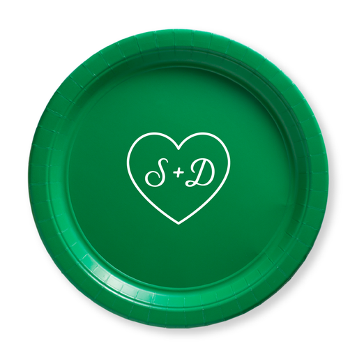 Sweetheart Paper Plates
