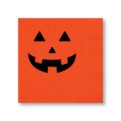 Jack O'Lantern Cocktail Napkins