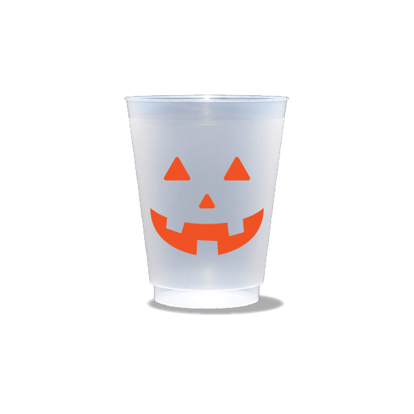 Jack O'Lantern Frosted Cups