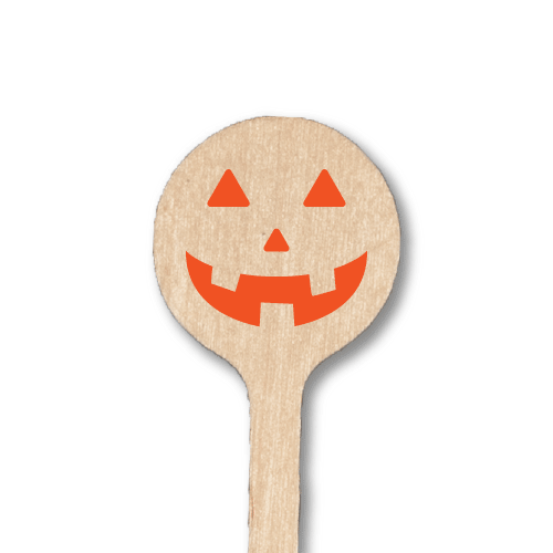 Jack O'Lantern Stir Sticks