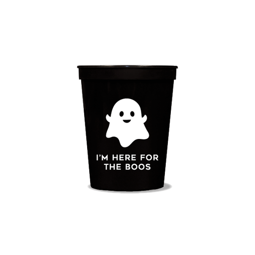 I'm Here for the Boos Party Cups