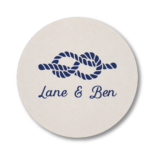 Nautical Name Coasters