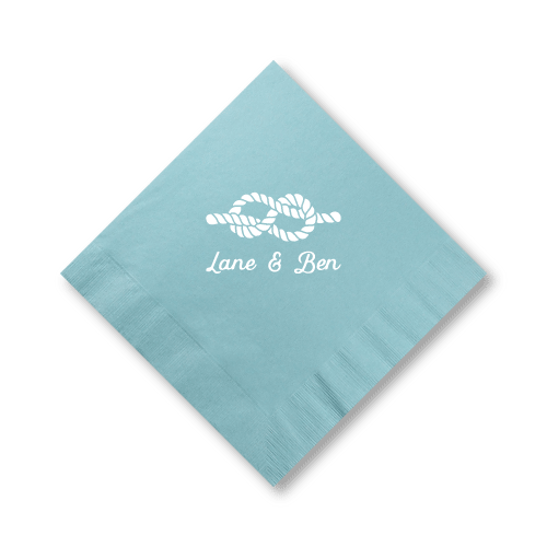 Nautical Name Dinner Napkins