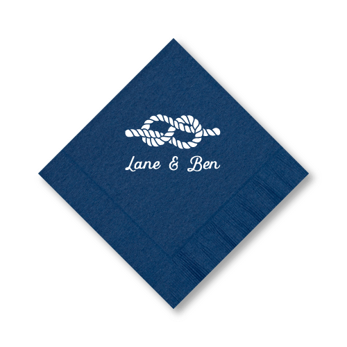 Nautical Name Luncheon Napkins