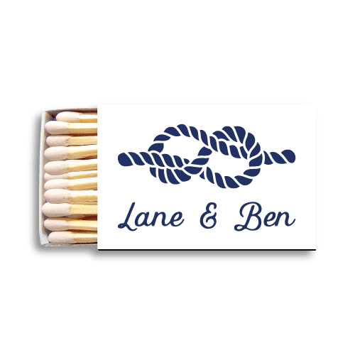 Nautical Name Matchboxes