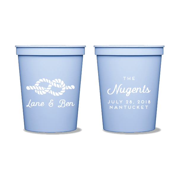 Nautical Name Party Cups