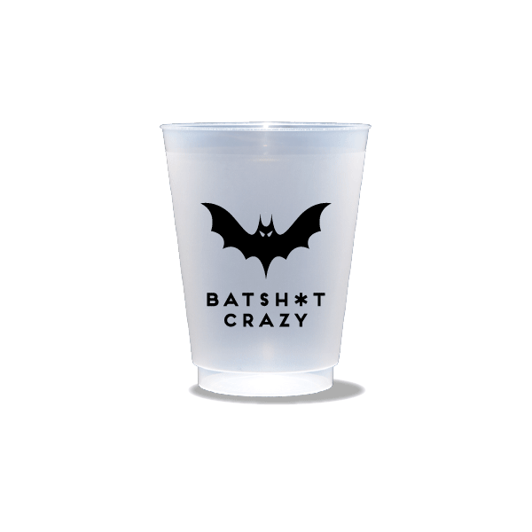 Batsh*t Crazy Frosted Cups