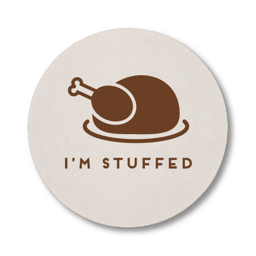 I'm Stuffed Coasters