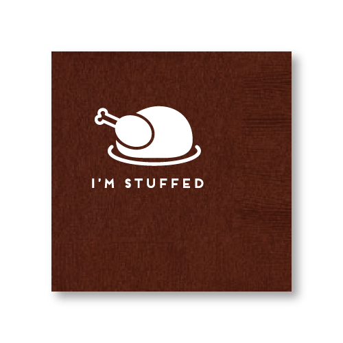 I'm Stuffed Cocktail Napkins