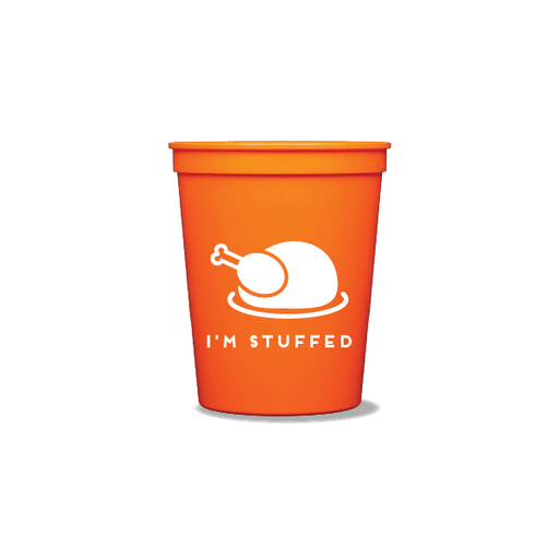 I'm Stuffed Party Cups