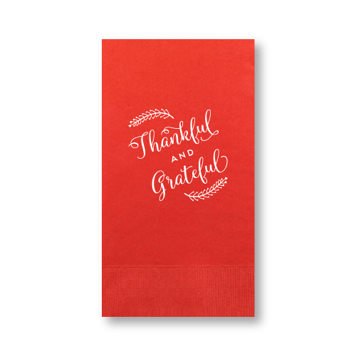 Thankful and Grateful Guest Towels