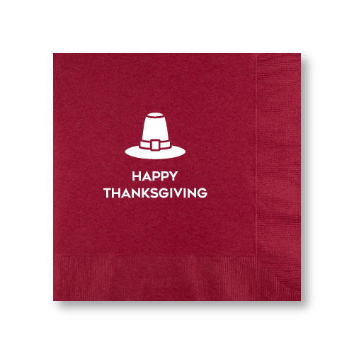Happy Thanksgiving Dinner Napkins