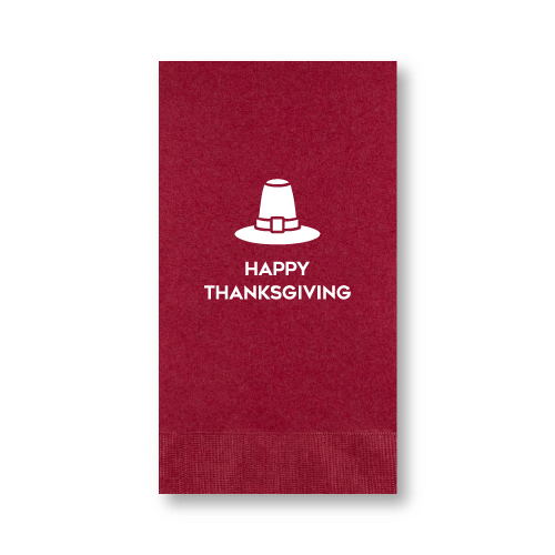 Happy Thanksgiving Guest Towels