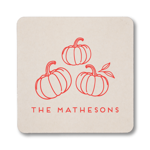 Pumpkin Patch Coasters