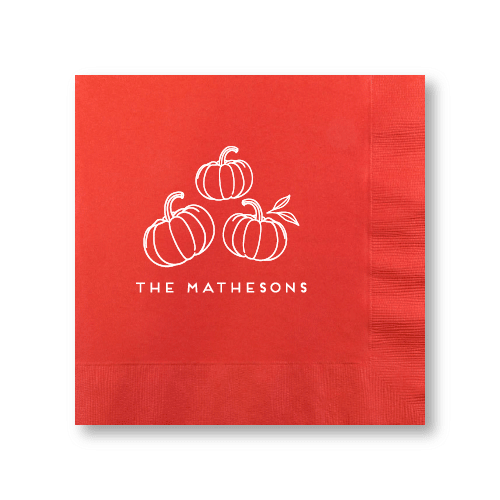Pumpkin Patch Dinner Napkins