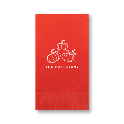 Pumpkin Patch Guest Towels