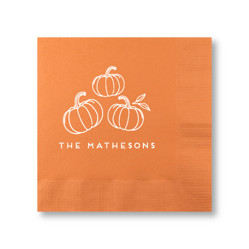 Pumpkin Patch Luncheon Napkins
