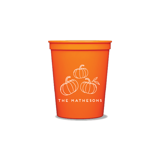 Pumpkin Patch Party Cups