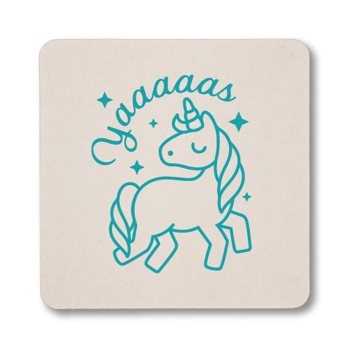 Yaaaaas Unicorn Coasters