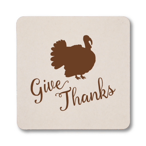 Give Thanks Coasters