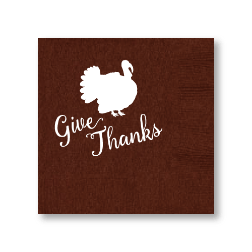 Give Thanks Cocktail Napkins