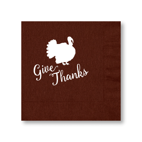 Give Thanks Luncheon Napkins