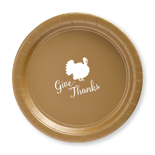 Give Thanks Paper Plates