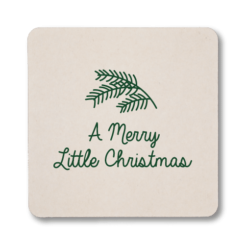 Merry Little Christmas Coasters