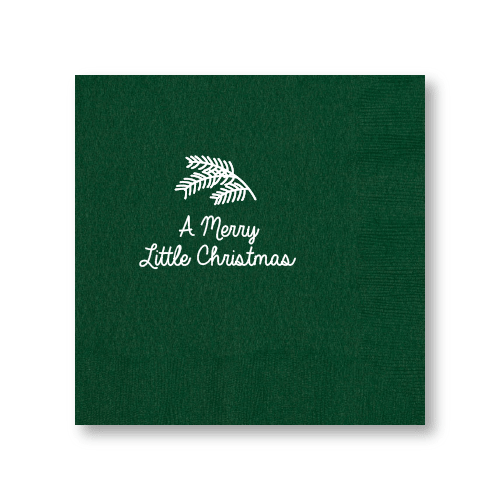 Merry Little Christmas Dinner Napkins