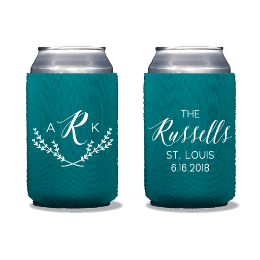 Arabella Monogrammed Can Coolers