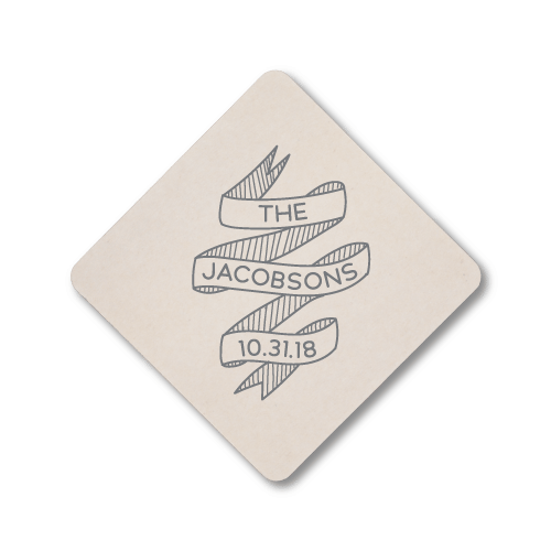 Wedding Banner Coasters