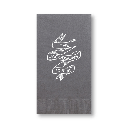 Wedding Banner Guest Towels