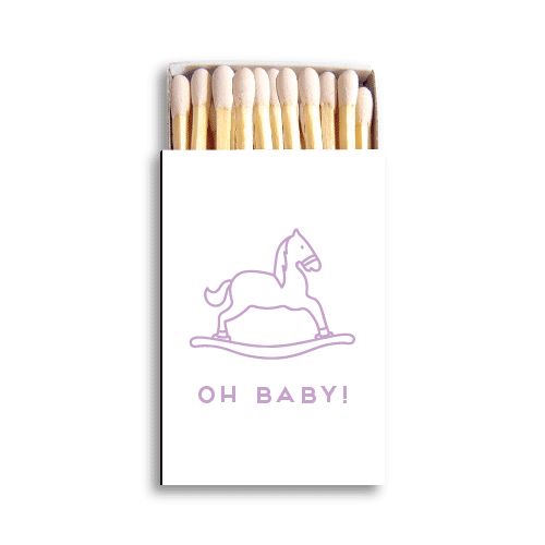 Oh Baby Matchboxes