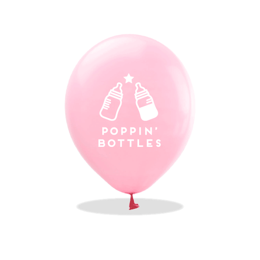 Poppin' Bottles Latex Balloons