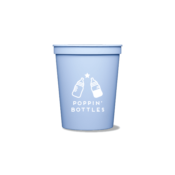 Poppin' Bottles Party Cups